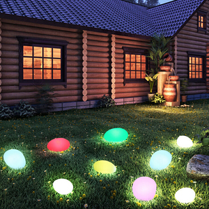 Stone Shaped LED Indoor Outdoor Light (Dia.32*24*H17 cm)