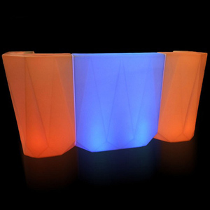 Waterproof RGB Glowing LED Bar Counter for Café and Bar