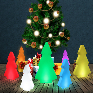 Outdoor Waterproof Led Christmas Tree Lights for Theme Park Decration(50*15*H84CM)