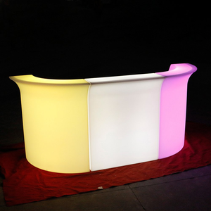 RGBW Color Chnaging LED Bar Counter (90*80*110 cm)