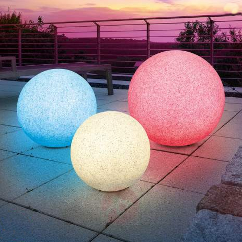 A Wide Variety of Remote and Rechargeable 16 Color Changing LED Marble ball